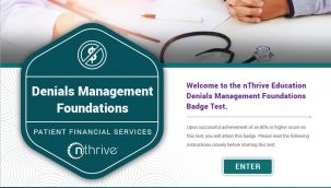 Badge Test: PFS - Denials Management Foundations
