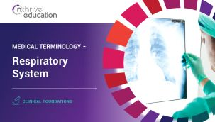 Clinical Foundations: Medical Terminology - Respiratory System