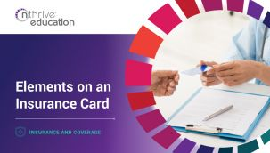 Insurance & Coverage: Elements on an Insurance Card