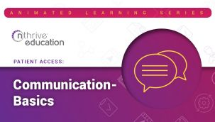 Patient Access: Communication - Basics