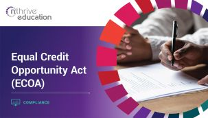 Compliance: Equal Credit Opportunity Act (ECOA)