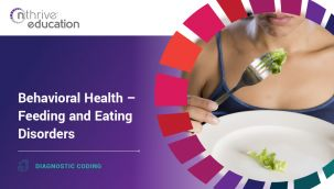 Diagnostic Coding: Behavioral Health - Feeding and Eating Disorders