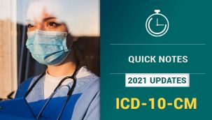 nThrive Resource Center: 2021 Updates - ICD-10-CM Quick Notes