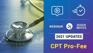Bundle: Webinar and Quick Notes: 2021 Updates - CPT Pro-Fee & Quick Notes