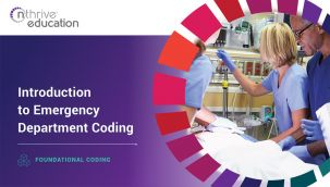 Foundational Coding: Introduction to Emergency Department Coding