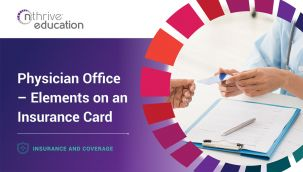 Insurance & Coverage: Physician Office - Elements on an Insurance Card