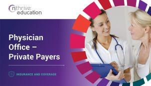Insurance & Coverage: Physician Office - Private Payers