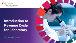 Patient Access: Introduction to Revenue Cycle for Laboratory