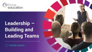 Patient Access: Leadership - Building and Leading Teams