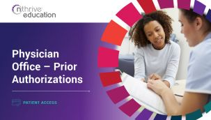 Patient Access: Physician Office - Prior Authorizations