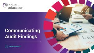 Payer Audit: Communicating Audit Findings