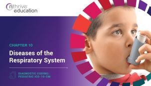 Diagnostic Coding: Pediatric ICD-10-CM Chapter 10 - Diseases of the Respiratory System