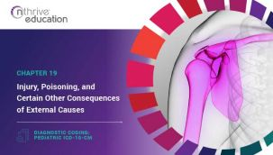 Diagnostic Coding: Pediatric ICD-10-CM Chapter 19 - Injury, Poisoning, and Certain Other Consequences of External Causes
