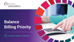 Patient Financial Services: Balance Billing Priority