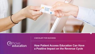 Webinar: Checklist for Success: How Patient Access Education Can Have a Positive Impact on the Revenue Cycle