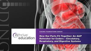 Webinar: Coding - How Our Parts Fit Together: An A&P Refresher for Coders - Circulatory, Respiratory, and Digestive Systems